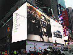 世界最大の広告サイネージ