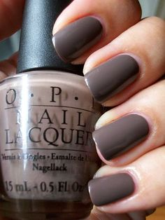 OPI Gel Nail Polish:  You Don't Know Jacques...my favorite!