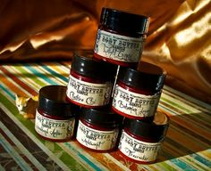 Six+Pack+Sampler+Minis+body+butters+by+PurplecatCreatives+on+Etsy,+$10.00