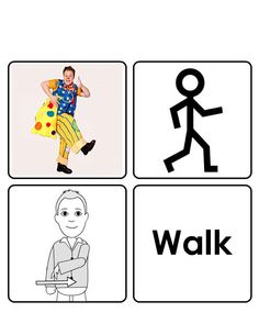 Walk Sign Language For Kids, American Sign Language, Makaton Signs, Bsl, Bingo Games, Communication Skills, Pre School, Walking, Signs