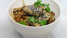 Tofoe sesamkorst en groentewok   Dagelijkse kost