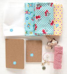 Forrar un cuaderno con tela