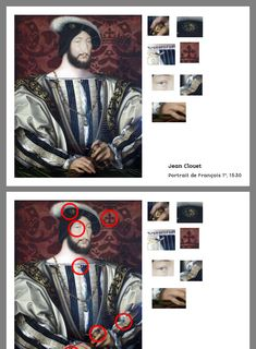 History Projects, Art History, Francois 1, Alternative Education, Portrait, Art Ideas, Activities, Crowns, Elementary Art