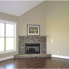 Corner Fireplace Ideas stone and brick corner fireplace design : corner fireplace design
