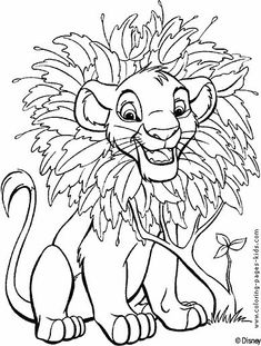 find this pin and more on dibujos the lion king coloring pages - Printable Coloring Pages Kids