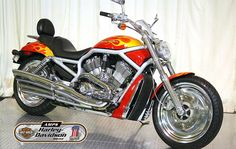 2002 HARLEY DAVIDSON VRSCA in Red  At Auckland Motorcycles & Power Sports,   New Zealand www.amps.co.nz