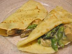 Chicken Crepes.. YUM!