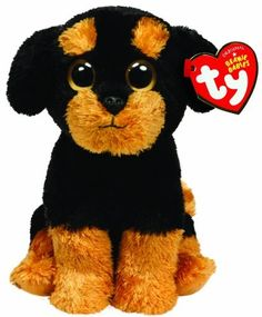 Ty Beanie Baby - Brutus - Laying Dog by Ty, Ty Beanie Boos, Beanie Buddies, Beanie Bears, Kids Toy Store, New Kids Toys, Ty Animals, Plush Animals, Big Eyed Stuffed Animals, Rare Beanie Babies