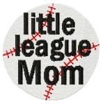 Little League Baseball Set - 4x4 | Baseball | Machine Embroidery Designs | SWAKembroidery.com Too Cute Embroidery