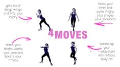 TOTAL BODY MOVES - YOU CAN DO THESE EXERCISES AT HOME, YOU DONT NEED ANY EQUIPMENT. THESE MOVES SCULPT YOUR ARMS, BOOTY, ABS AND THIGHS. THEY ALSO HELP TO BOOST YOUR CALORIE BURN AND HELP WITH WEIGHT LOSS. LUCY XX