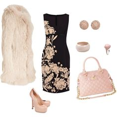 """""""Pink is my color"""" by lhutchins on Polyvore"""