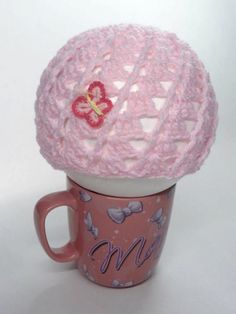 Easter Baby Girl Crochet Hat  with Butterfly by toppytoppy on Etsy, $12.99