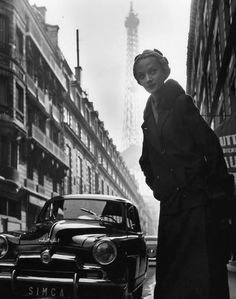 Niki de Saint Phalle by Robert Doisneau..1952.