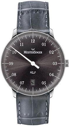 MeisterSinger Neo NE907 Einzeiger Automatikuhr Zeitloses Design - http://uhr.haus/meistersinger-4/meistersinger-neo-ne907-einzeiger-automatikuhr