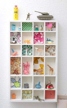 shelves for the children 2