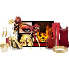 Designer Clothes, Shoes & Bags for Women Movie Outfits, Dark Phoenix, Marvel Comics, Shoe Bag, Movies, Collection, Design, Women, Films