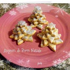 Mezza tazza di tè: Biscotti alla panna... decorati per Natale