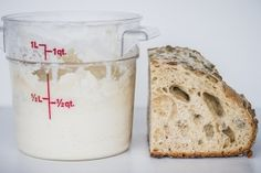 Basic Levain | Harnessing wild yeast for a homemade starter