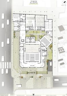 floor architecture Source by agalobardes Auditorium Plan, Auditorium Architecture, Theatre Architecture, Auditorium Design, Landscape Architecture Design, Architecture Portfolio, Facade Architecture, Residential Architecture, Architectural Floor Plans