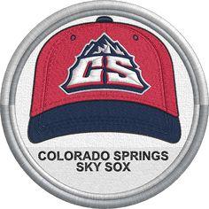 264f63f4eb3 Colorado Springs Sky Sox cap - hat - MiLB - PCL - Pacific Coast League - Minor  League Baseball - Colorado - Created by Jackson Cage