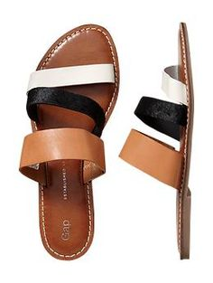 Just purchased these Gap Strappy sandals. Great neutrals for Summer