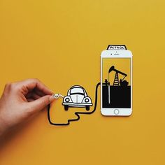 Imaginary World Through My Iphone Ads Creative, Creative Advertising, Ad Design, Design Trends, Graphic Design, Work Inspiration, Motion Design, Photo Manipulation, Graphic Illustration