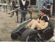 Senna weekend …   my other ride …Ayrton Senna, JPS Lotus-Renault 97T, 1985 British Grand Prix, Silverstone