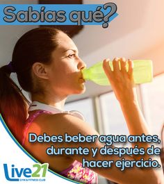 ☕ Hidratación #LIVE21 #GIMNASIO #FITNESS #TONALA #RetoLive21 #CROSSFIT #GymLife