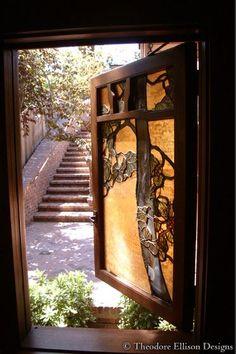 Stunning Door :: Theodore Ellison Designs www.theodoreellis...
