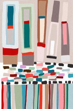Desafinado: desafinado 002 abstract pattern
