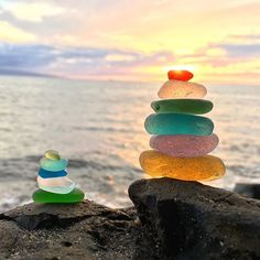 Sunsets and Seaglass ✨