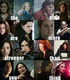 Photo of female movie characters for fans of Female Movie Characters 38757166 Harry Potter Girl, Images Harry Potter, Harry Potter Jokes, Girl Power Quotes, Girl Quotes, Heros Film, Female Movie Characters, Citations Film, Fandom Quotes