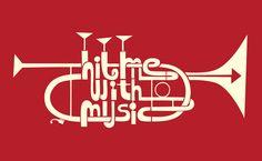 Hit Me! | Nick Radford - Trumpet Graphic ∙