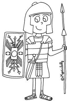 L'Histoire en dessins - L'Antiquité : le Romain - Journal de bord d'une instit' débutante