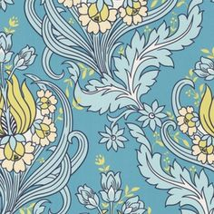 I pinned this Graham & Brown Temple Tulips Wallpaper from the Modern Baroque event at Joss and Main!