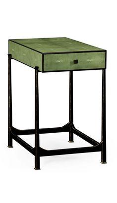 """shagreen furniture"" shagreen bedside table, shagreen buffet, shagreen coffee…"