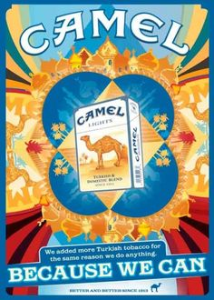 Cigarettes » Camel :: Old Posters