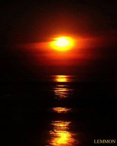 Outer Banks NC Local Artists Facebook post 5/4/15:  Full Moon over Outer Banks.  Photographer credit: Mark Lemmon.