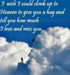 My Momo.....everyday I wish I could hug you one more time. For now I will wait until we meet again in HEAVEN.