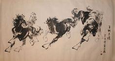 Shi ZhongGui Horses