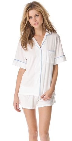 a cute + sexy PJ set - because every newlywed needs a night off during their honeymoon :)