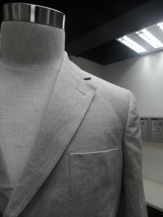 Single breasted all hemp tailor made suit - Look Good - Feel Good - Do Good!