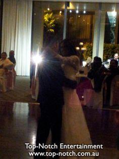 Bridal Waltz/First Dance at Leonda by the Yarra, Hawthorn, Victoria.  www.top-notch.com.au  www.facebook.com/WeddingDJTopNotch