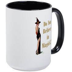 Do You Believe In Magick? Large Mug