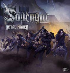#METAL #MUSICA #CROWDFUNDING -  ¡¡Sovengar Metal March!! Crowdfunding Verkami: http://www.verkami.com/projects/13835-sovengar-metal-march