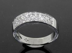 Diamond Pave Set Eternity Ring custom made by Peter Kumskov 'My Own Jeweller Direct' for another of our beautiful clients. http://jewellerdirect.com.au/image/data/Gallery/Diamond%20rings/Diamond-Pave-Set-Eternity-Ring-web.jpg