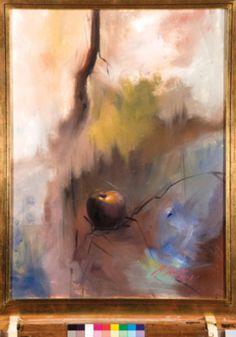 Martha Chapa - Equilibrista: óleo sobre tela