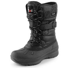 Womens CXS Winter Dame Snow Boots (Black)