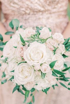 White and pink bridesmaid bouquet for simply classic wedding in the Outer Banks #bouquet #bouquets #bridesmaid #classicwedding #bridesmaids #floral #flowers #roses Wedding Bridesmaid Dresses, Bridesmaid Bouquet, Wedding Bouquets, Bridesmaids, Wedding Guest List, Our Wedding Day, Dream Wedding, Ceremony Arch, Outdoor Ceremony
