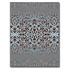 SOLD 80 Postcards Floral abstract background! #Zazzle #Postcard #Floral #abstract #background #silver #baroque http://www.zazzle.com/postcard_floral_abstract_background-239501558472225446